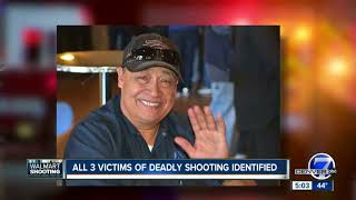All 3 victims of Thornton Walmart shooting identified