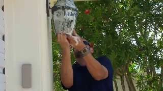 Steps Light Fixture Cleaning Chucks Example