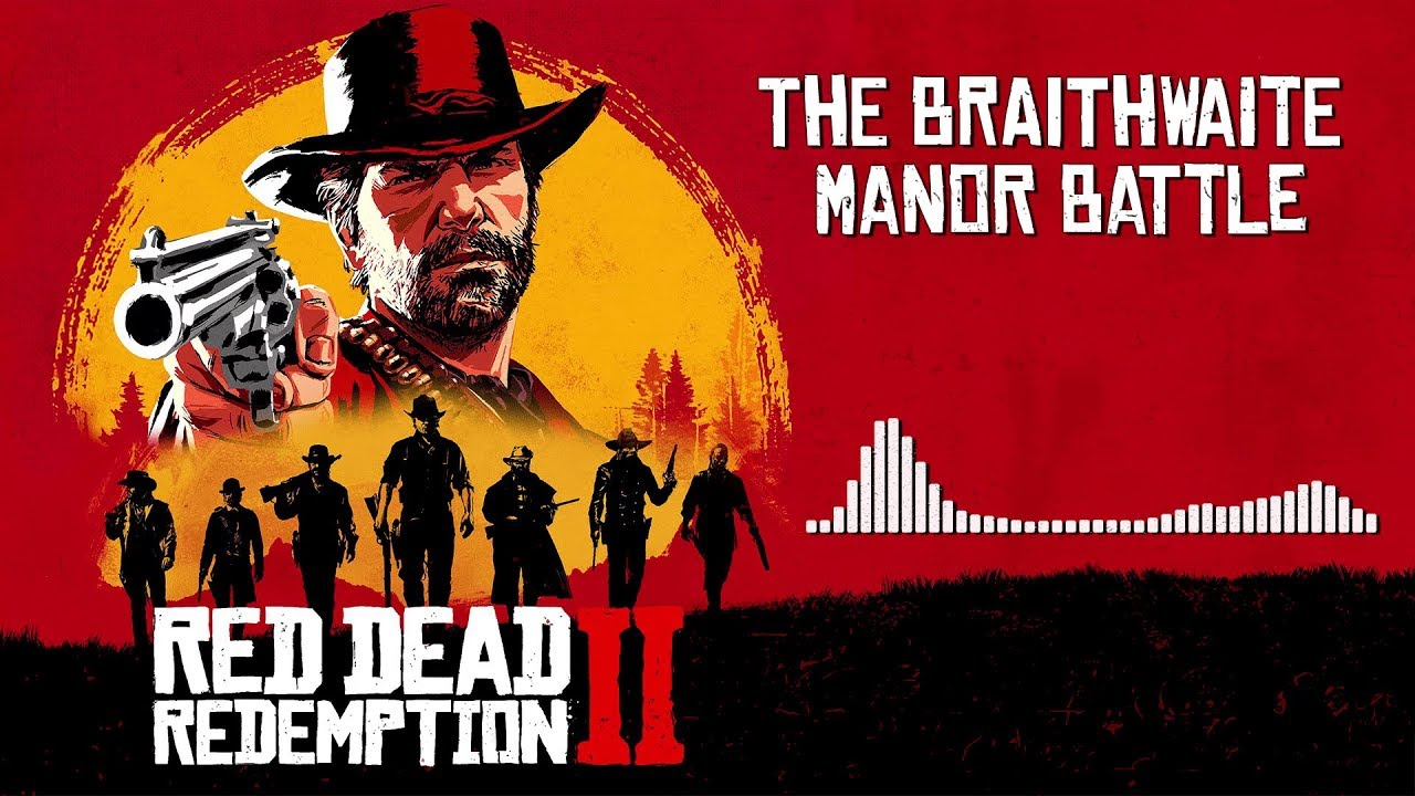 Red Dead Redemption 2 Official Soundtrack - Braithwaite Manor Battle | HD (With Visualizer)