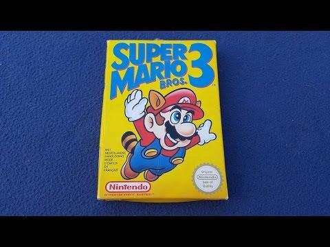 Super Mario Bros 3 - Unboxing