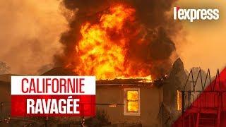La Californie à nouveau ravagée par de violents incendies