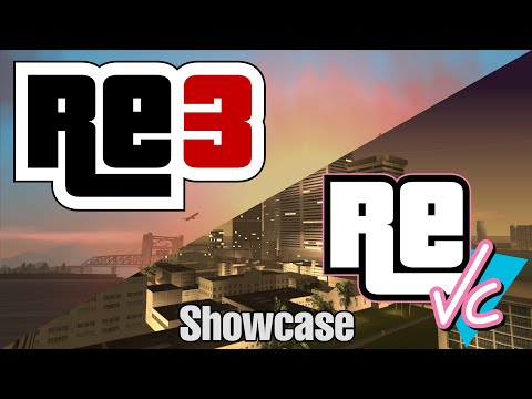 re3 and reVC Showcase
