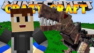 Minecraft CRAZYCRAFT - FIGHTING DUNGEON BOSSES