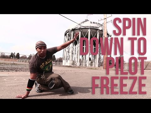 How to Breakdance | Spin Down to Pilot Freeze | Matt Cash(Floor Raskalz/North Star Zulu)