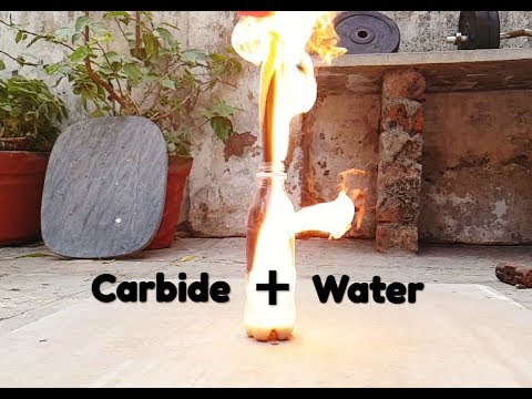 Carbide And Water Reaction