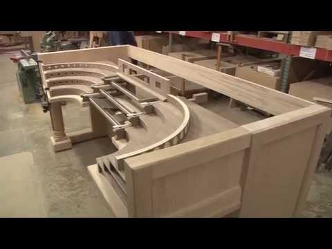 Allen Organ Special Project - Curved French Terrace Organ Part2