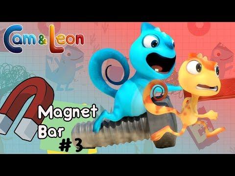 Hilarious Children Cartoon   Magnet Bar #3   Cam & Leon