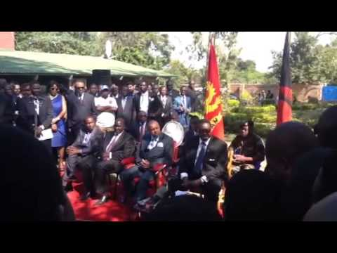 HIGHLIGHT: Pres Peter Mutharika first press briefing