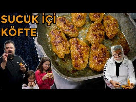 6 AY HAPİS YATIRAN SUCUK KÖFTE (Babamın Sucuk İçi Köfte Tarifi) Hacı Mutfakta