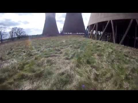 Abandoned Willington Power Station Cooling Towers GoPro part 2