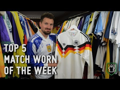Classic Football Shirts: This Week's Top 5 Match Worn