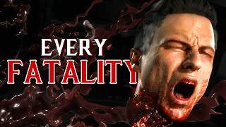 Every Fatality In Mortal Kombat 11