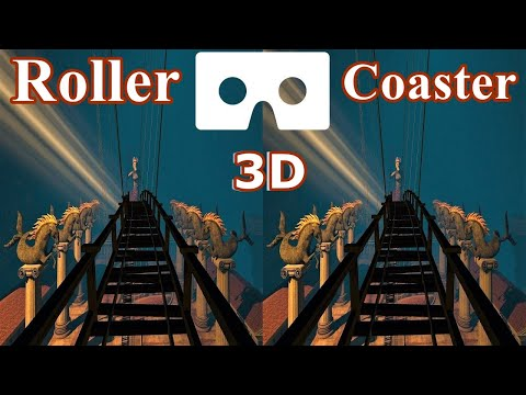 RollerCoaster Legends 3D VR Video 3D SBS VR Box Google Cardboard