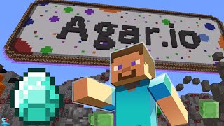 MINECRAFT Agar.io Dominate the Server! Agar.io Minecraft Live Stream