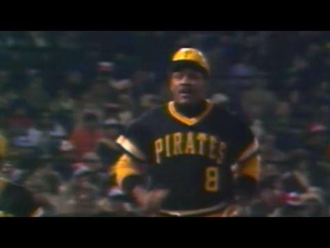 WS1979 Gm1: Stargell homers, brings Bucs within a run