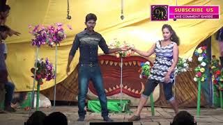 Gambar cover New Melody Song In Stage Drama //Dj Telugu Recording Dance latest 2017