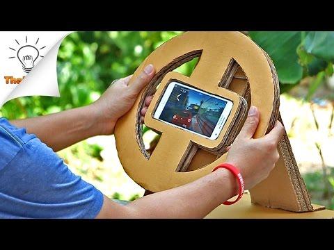 [DIY] พวงมาลัยเกมส์รถแข่ง ทำใช้เอง Gaming Wheel | Thaitrick