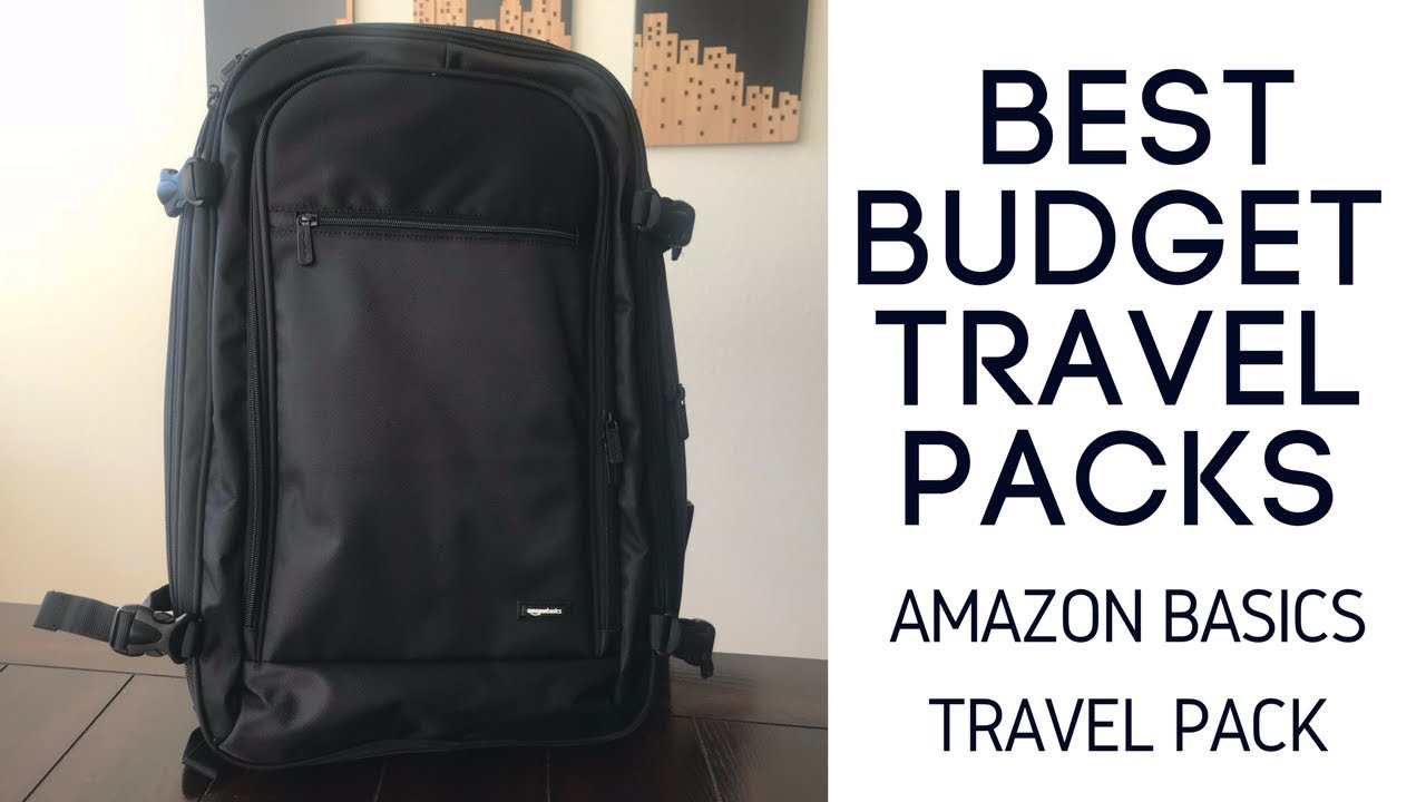 Best Budget Travel Packs  Amazon Basics Carry-On Travel Backpack ... b6b702b99666a