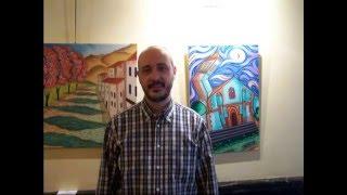 Vídeo del pintor Javier Benitez Toyos de su exposición en el  Hotel Lusso Infantas