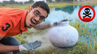 Will Liquid Nitrogen Freeze the Pond?
