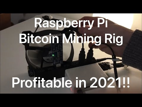 400$ With This Raspberry Pi Bitcoin Mining Rig??