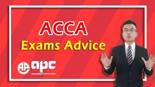 ACCA Exams Advice