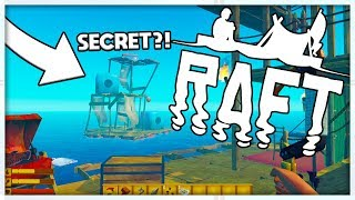 THE SECRET ENDING! BEATING THE GAME! - MINECRAFT MEETS ARK - RAFT SURVIVAL