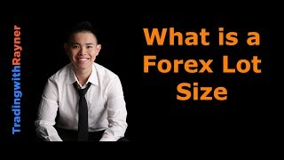 Forex Trading for Beginners #5: What is a Forex Lot Size by Rayner Teo