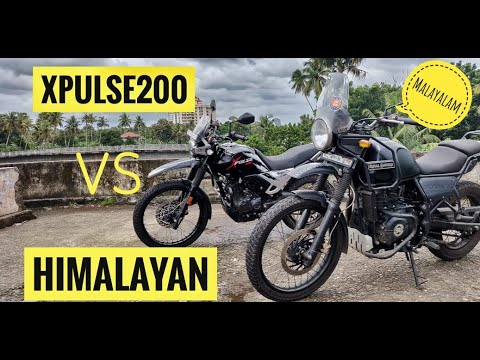 XPULSE 200 VS HIMALAYAN | COMPARISON |WHICH ONE WILL YOU CHOOSE? | MALAYALAM |BEST IN SEGMENT