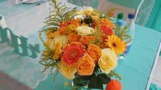 Оформление свадьбы тканями и цветами в королеве, свадьба в стиле Тиффани