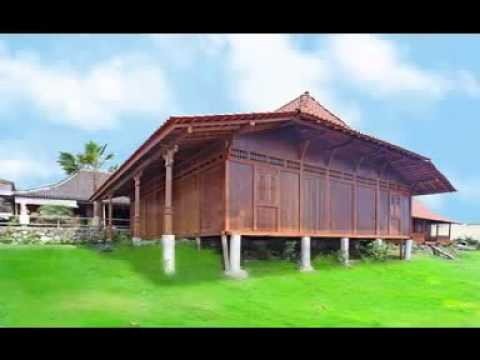 JAVANESE ANTIQUE WOODEN HOUSE FROM INDONESIA