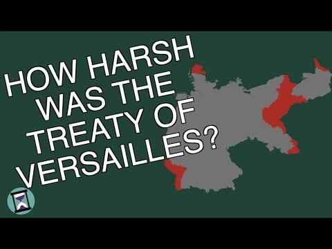 How Harsh Was The Treaty Of Versailles Really? (Short Animated Documentary)