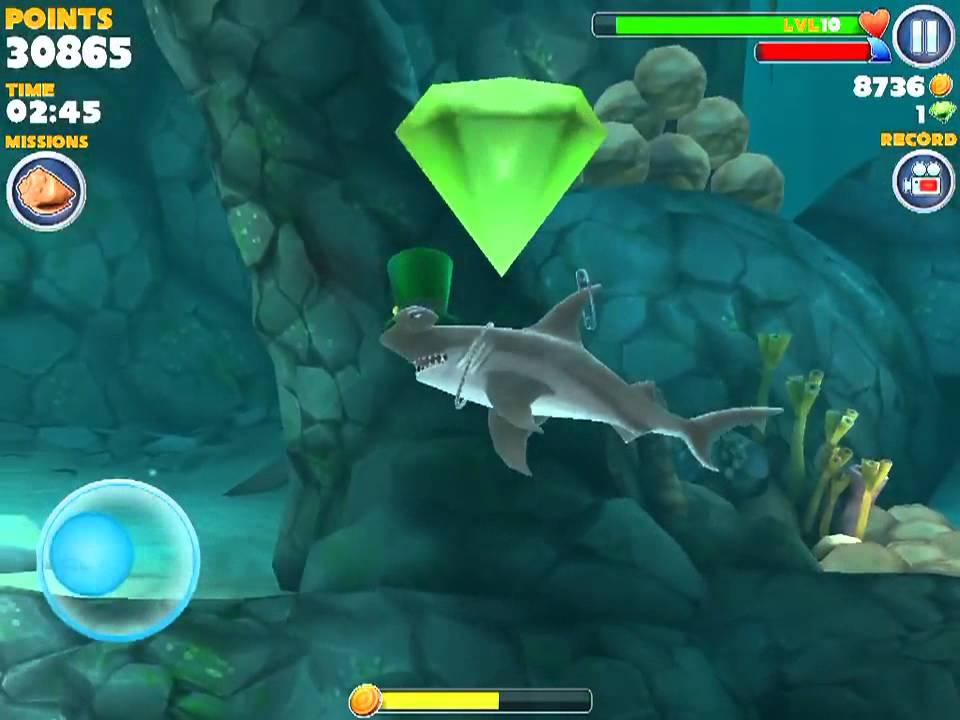 Hungry shark evolution megalodon vs giant crab - photo#36