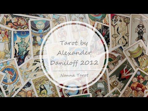 開箱  丹尼洛夫塔羅牌-第四版 • Tarot by Alexander Daniloff 2012 // Nanna Tarot