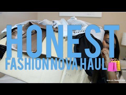 INSTAGRAM BADDIE  FASHION NOVA HAUL(HONEST REVIEW!!) CURVY GIRL