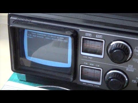 Sharp 5P-27G Repair Boombox with TV
