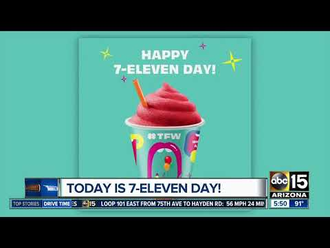 Christie James - It's 7-11 Which Means Free Slurpees At 7-11