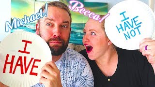 Never Have I Ever with Michael and Rebecca! Confessing Embarrassing Stories! / The Beach House
