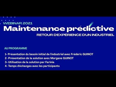 WEBINAR FIEV: retour d'expérience d'un industriel sur la mise en place de la maintenance prédictive