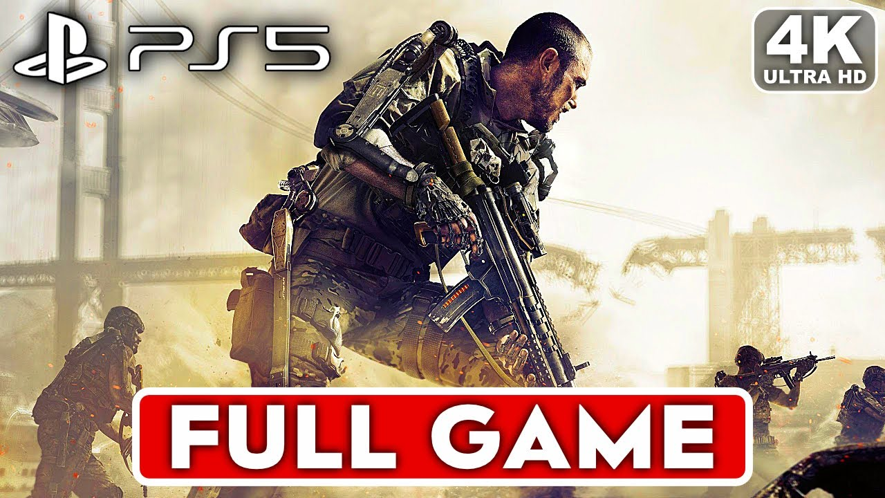 CALL OF DUTY ADVANCED WARFARE PS5 Gameplay Walkthrough Part 1 Campaign FULL GAME 4K No Commentary