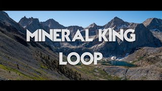 4 Days on the Mineral King Loop