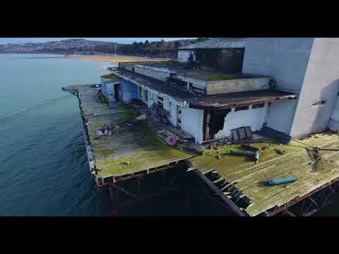 Last Look Around Victoria Pier Colwyn  Bay before demolition
