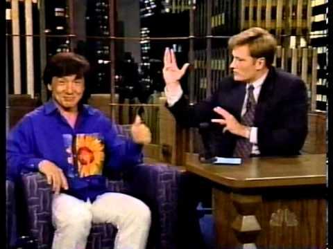 Conan O'Brien versus Jackie Chan - Kung Fu Fighting