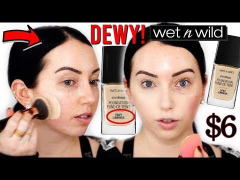 NEW Wet N Wild Photofocus DEWY Foundation {First Impression Review + Wear Test}