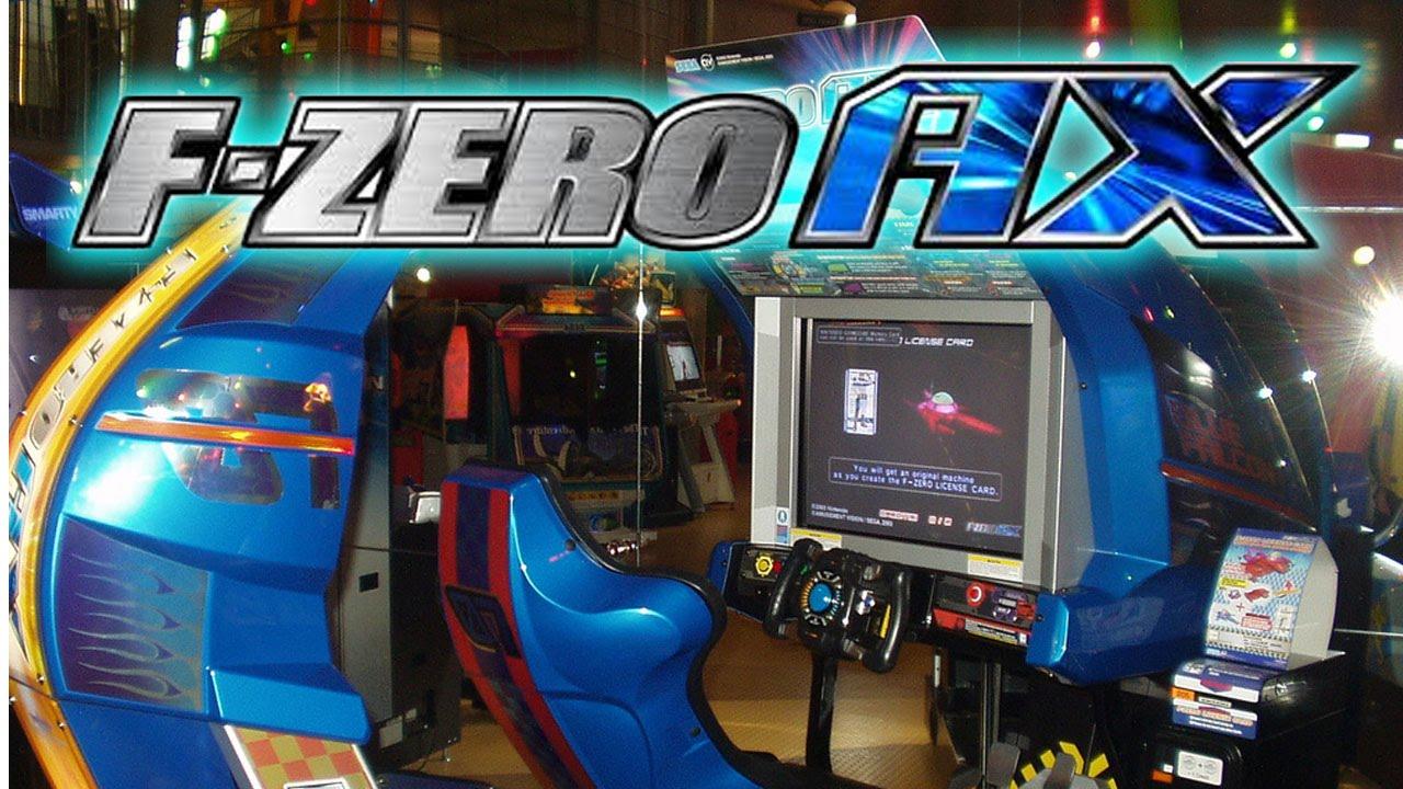 f zero ax proper arcade iso dolphin triforce full attract mode