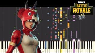 IMPOSSIBLE REMIX - Fortnite Dances - Dance Moves Default Theme (Turk) - Piano Cover