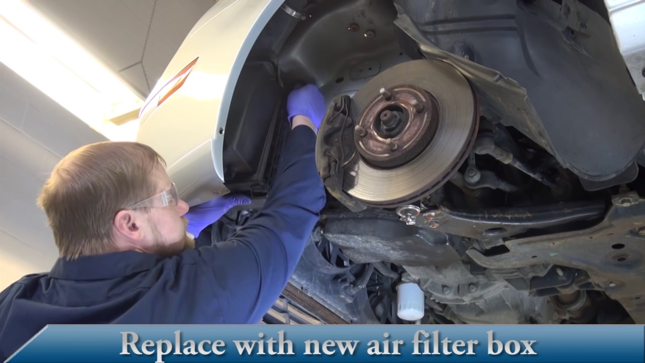 Dorman 05 07 Ford Focus Air Filter Box Installation Youtube St Fuse Cover