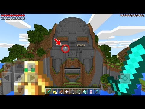 Do NOT Enter The Temple of Notch in Minecraft Pocket Edition at 3:00 AM