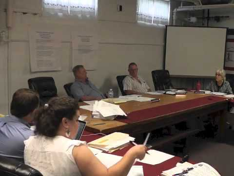 Ticonderoga Town Board Meeting  6-11-15