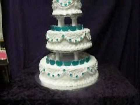 how to make a simple 3 tier wedding cake easy to transport 3 tier cake 15839